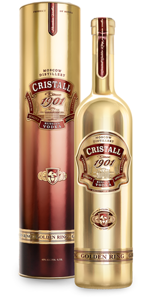 Водка<br>CRISTALL Golden Ring